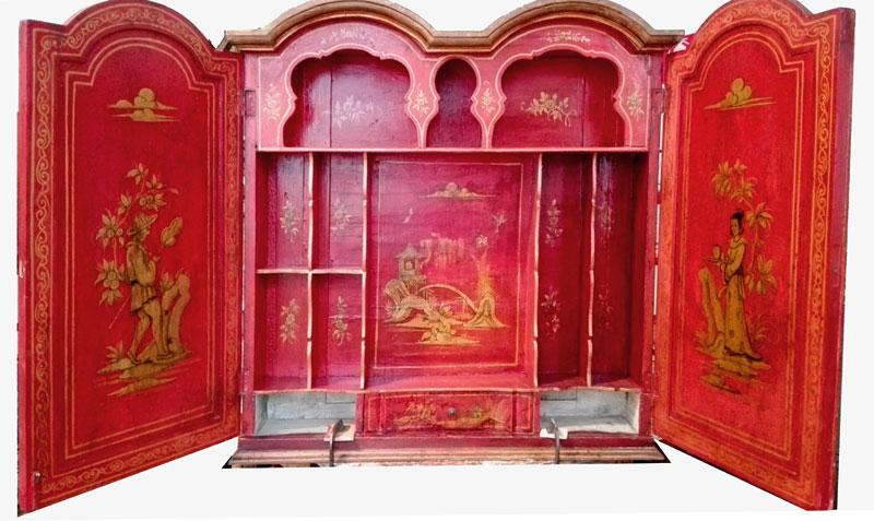 Restauro Pittorico Stipo Cinese