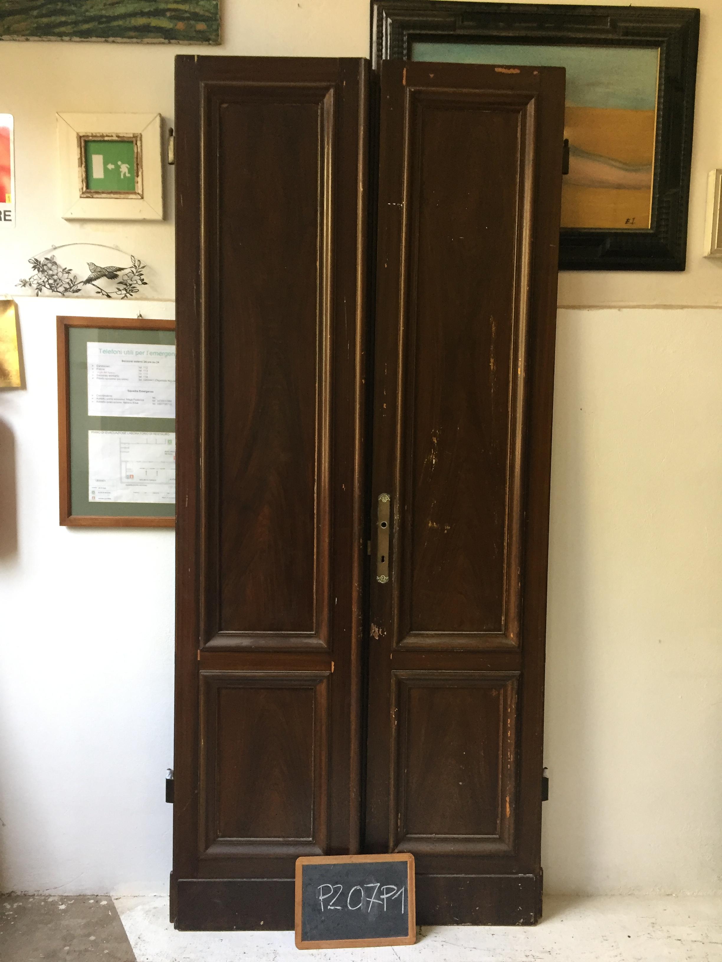 Restauro Porta in finto Legno