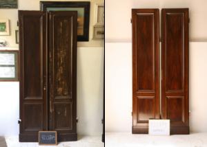 Restauro-porte-finto-legno