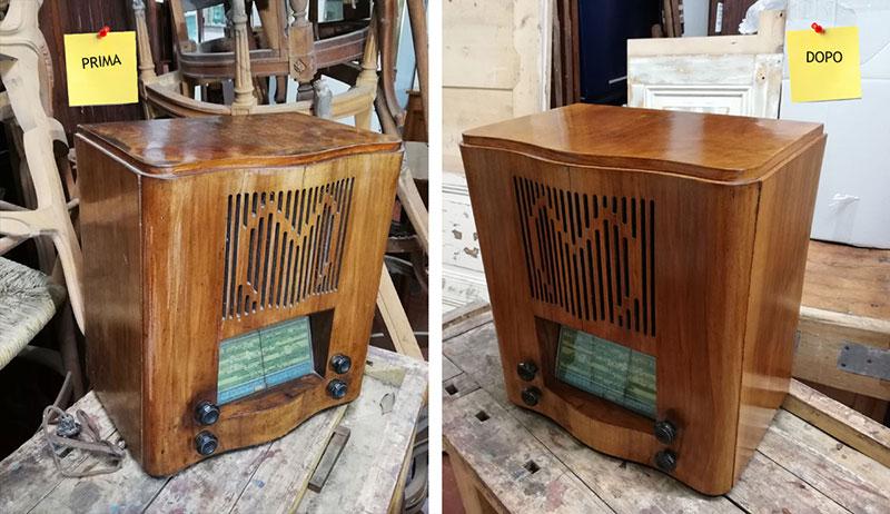 Restauro di una Radio