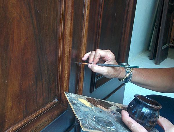 Restauro Finto legno
