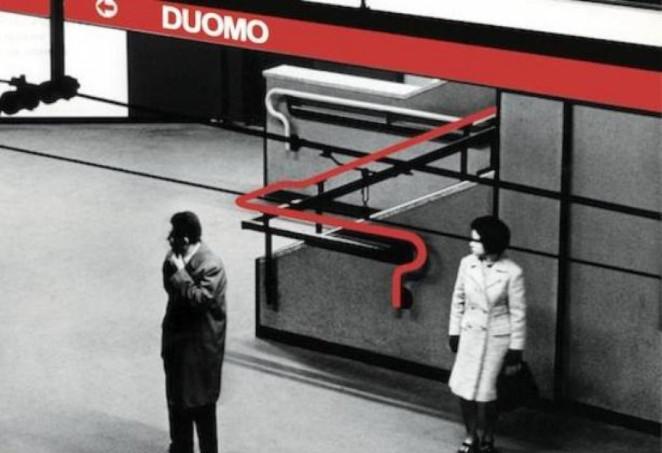 metro milano Franco Albini